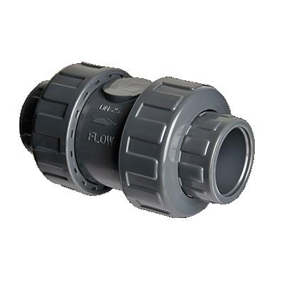 VRO.21L Check Valve double union/plain socket EPDM seals